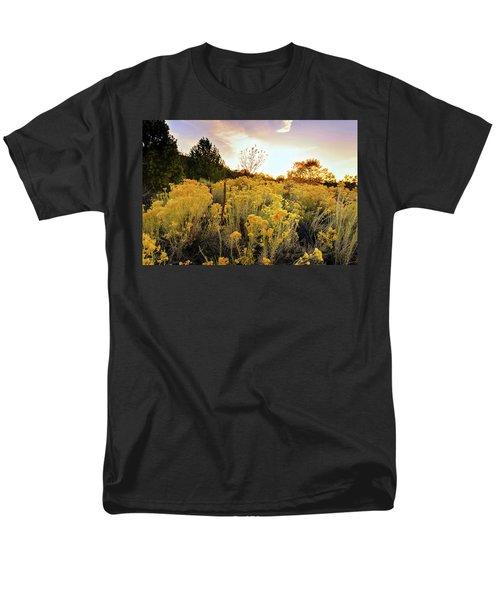 Santa Fe Magic Men's T-Shirt  (Regular Fit) by Stephen Anderson