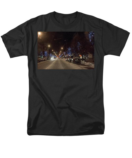 Men's T-Shirt  (Regular Fit) featuring the photograph Santa Visits Bradford by Wade Aiken