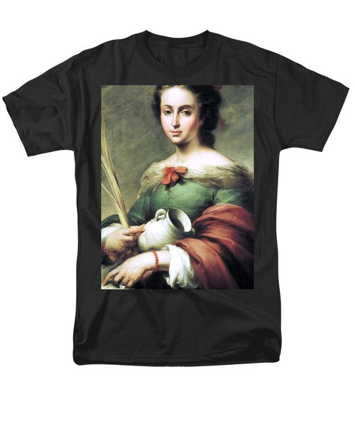 Men's T-Shirt  (Regular Fit) featuring the painting Santa Rufina by Pg Reproductions