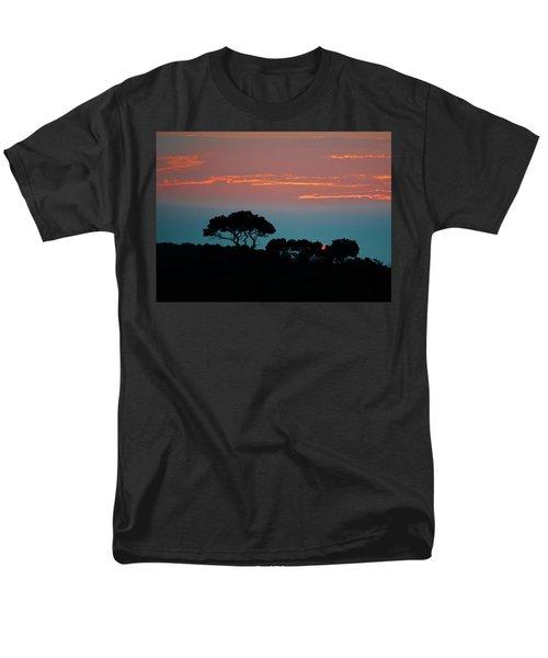 Savannah Sunset Men's T-Shirt  (Regular Fit) by William Bartholomew