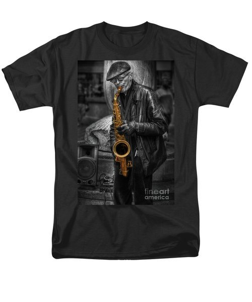 Sax Love Men's T-Shirt  (Regular Fit) by Yhun Suarez