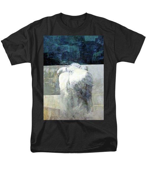 Saying Goodbye Men's T-Shirt  (Regular Fit) by Munir Alawi