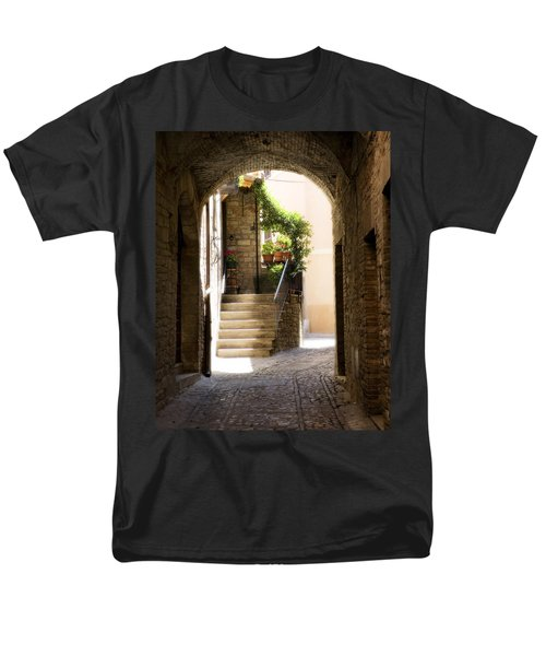 Scenic Archway Men's T-Shirt  (Regular Fit) by Marilyn Hunt