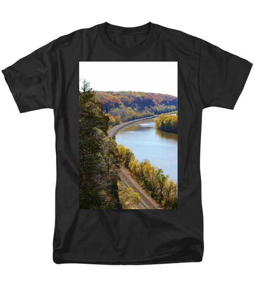 Men's T-Shirt  (Regular Fit) featuring the photograph Scenic View by Bruce Bley