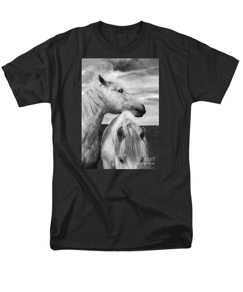 Scottish Horses Men's T-Shirt  (Regular Fit) by Diane Diederich