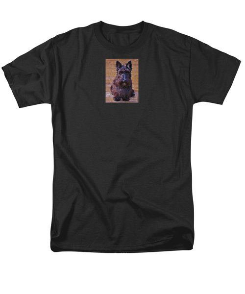 Men's T-Shirt  (Regular Fit) featuring the photograph Scottish Terrier by Michele Penner