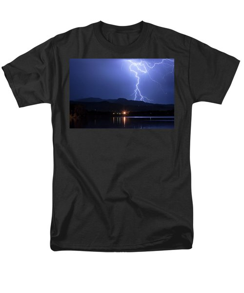 Men's T-Shirt  (Regular Fit) featuring the photograph Scribble In The Night by James BO Insogna