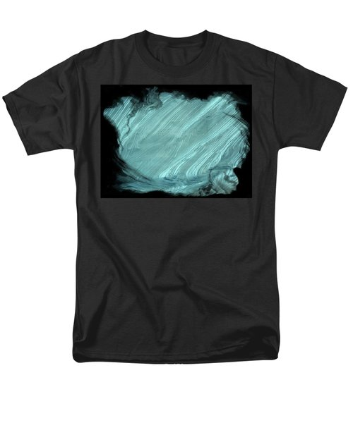 Sea Blue Men's T-Shirt  (Regular Fit) by Athala Carole Bruckner