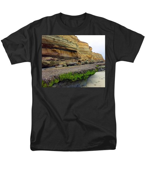 Sea Cliff Men's T-Shirt  (Regular Fit) by Betty Buller Whitehead