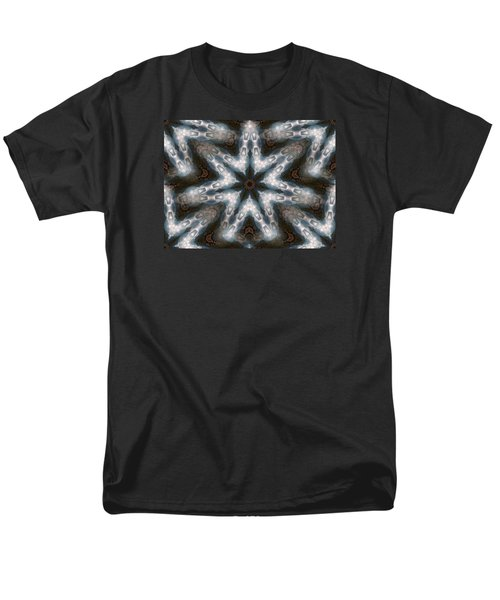 Seamless Mountain Star Men's T-Shirt  (Regular Fit) by Ernst Dittmar