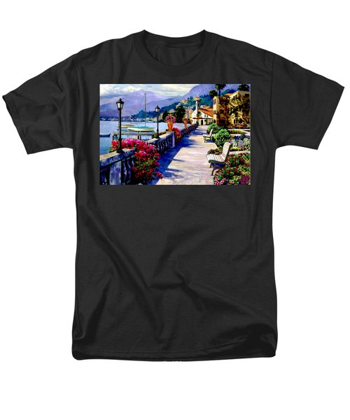 Seaside Pathway Men's T-Shirt  (Regular Fit) by Ron Chambers