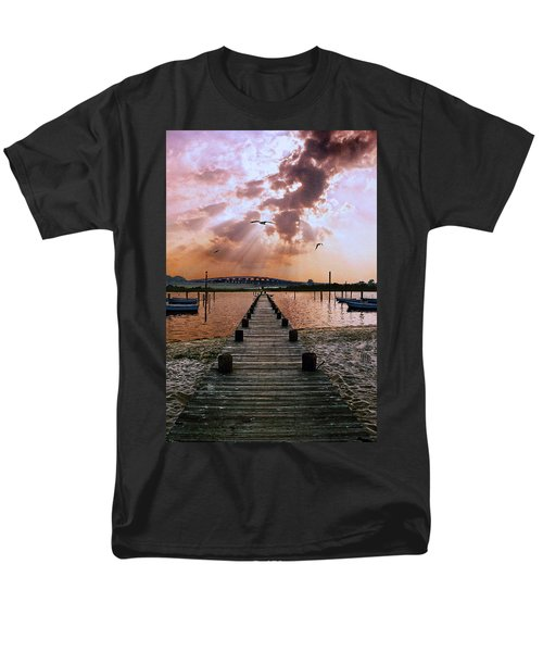 Seaside Men's T-Shirt  (Regular Fit) by Steve Karol