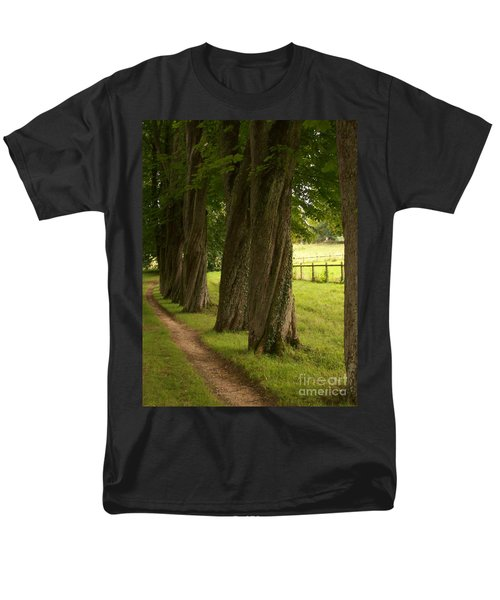 Secret Path Men's T-Shirt  (Regular Fit) by Mary Mikawoz