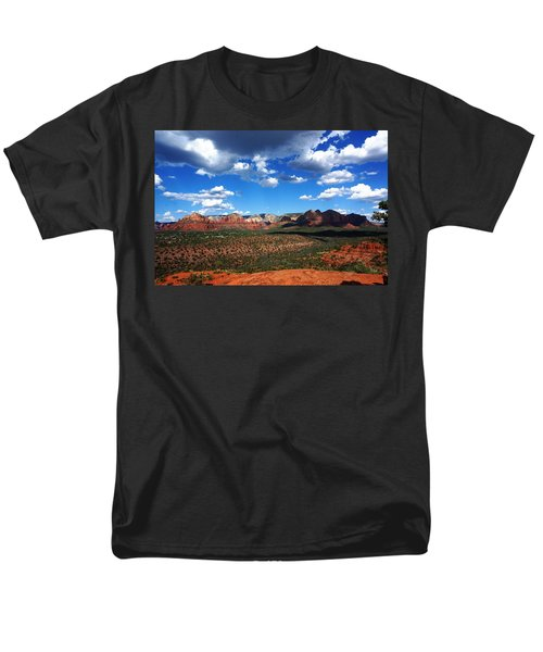 Men's T-Shirt  (Regular Fit) featuring the photograph Sedona by Julia Ivanovna Willhite
