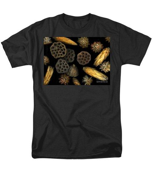 Seeds And Pods Men's T-Shirt  (Regular Fit) by Christian Slanec