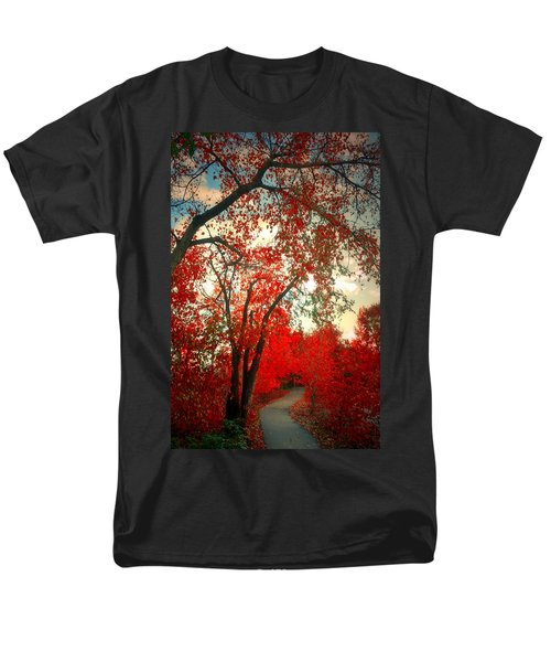 Men's T-Shirt  (Regular Fit) featuring the photograph Seeing Red 2 by Tara Turner