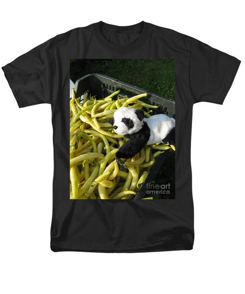 Men's T-Shirt  (Regular Fit) featuring the photograph Selling Beans by Ausra Huntington nee Paulauskaite