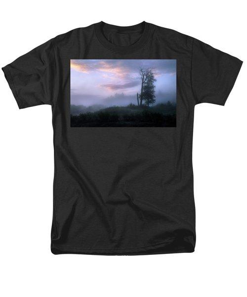 Sentinels In The Valley Men's T-Shirt  (Regular Fit) by Dan Jurak