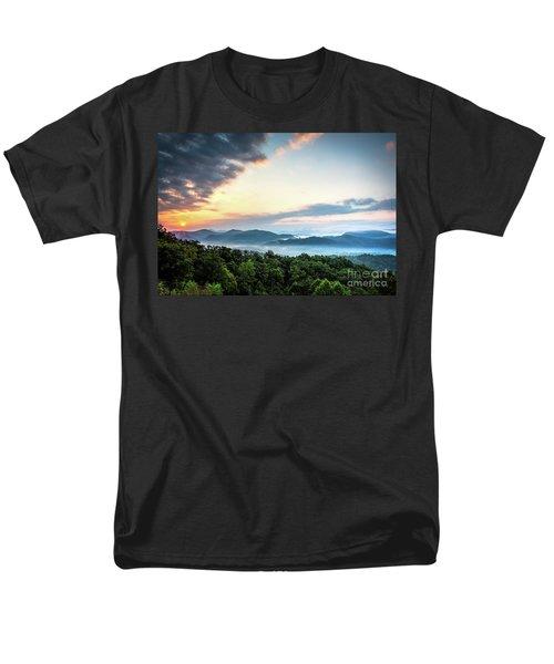 Men's T-Shirt  (Regular Fit) featuring the photograph September Sunrise by Douglas Stucky