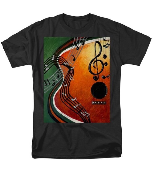Men's T-Shirt  (Regular Fit) featuring the painting Serenade by Teresa Wing