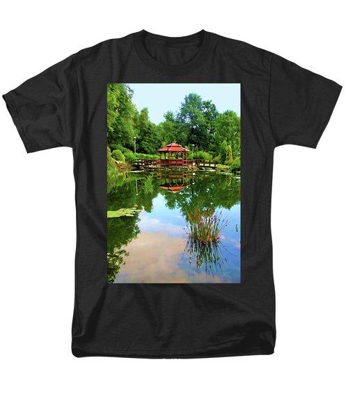 Serene Garden Men's T-Shirt  (Regular Fit) by Mariola Bitner