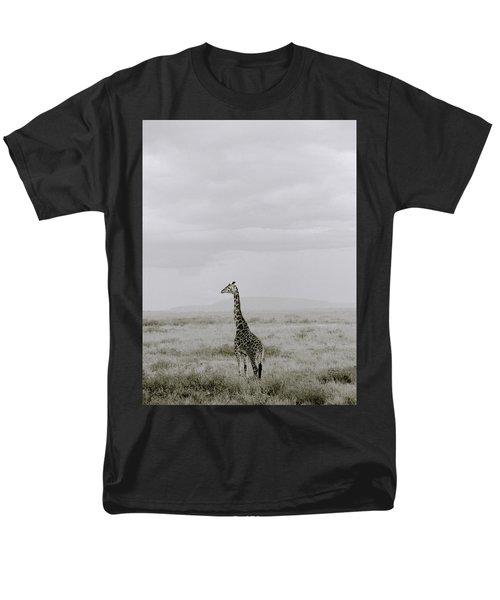 Serengeti Solitude Men's T-Shirt  (Regular Fit) by Shaun Higson