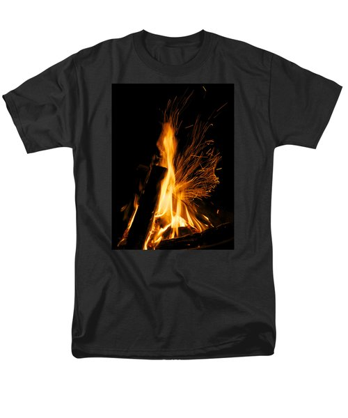 Set The Night On Fire Men's T-Shirt  (Regular Fit) by Jane Eleanor Nicholas