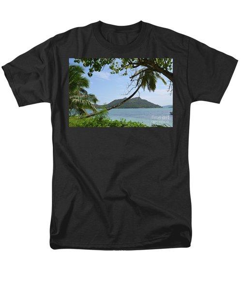 Seychelles Islands 2 Men's T-Shirt  (Regular Fit) by Eva Kaufman