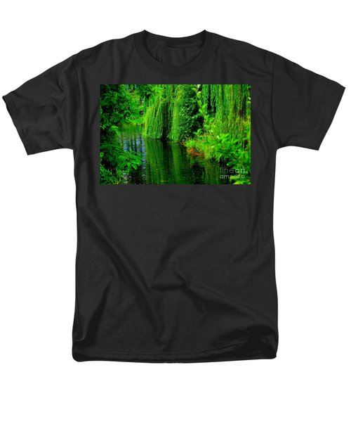 Shade Tree Men's T-Shirt  (Regular Fit) by Greg Patzer