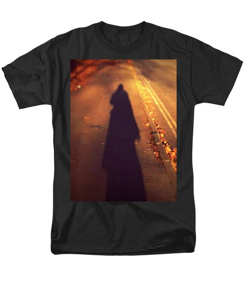 Men's T-Shirt  (Regular Fit) featuring the photograph Shadow by Persephone Artworks