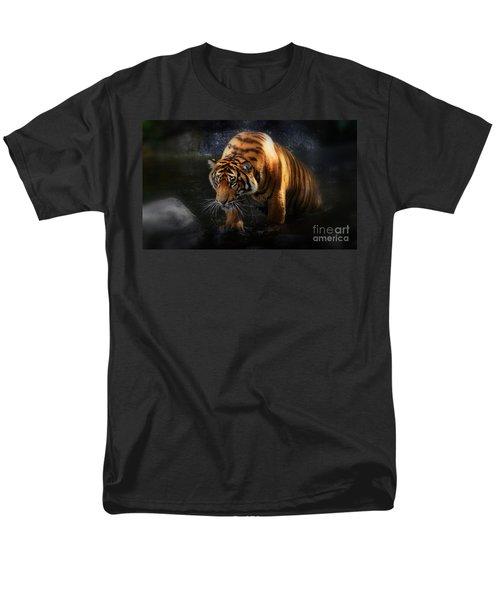 Shadows And Light Men's T-Shirt  (Regular Fit) by Kym Clarke