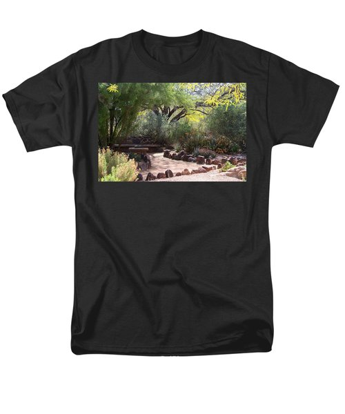Shady Nook Men's T-Shirt  (Regular Fit) by Kathryn Meyer