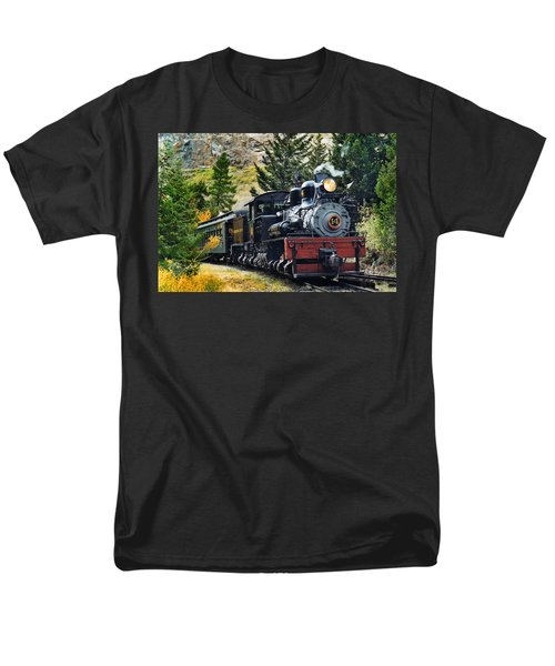 Shay On The Georgetown Loop Men's T-Shirt  (Regular Fit) by Ken Smith
