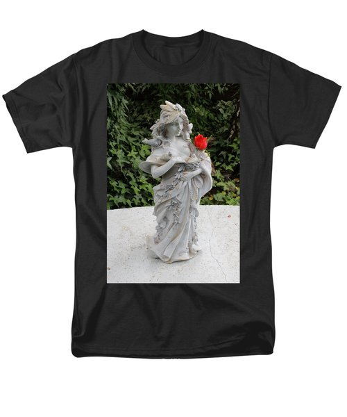 Men's T-Shirt  (Regular Fit) featuring the photograph She Includes The Rose by Marie Neder