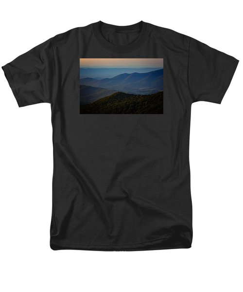 Shenandoah Valley At Sunset Men's T-Shirt  (Regular Fit) by Rick Berk