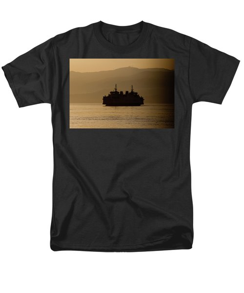 Men's T-Shirt  (Regular Fit) featuring the digital art Ship by Bruno Spagnolo