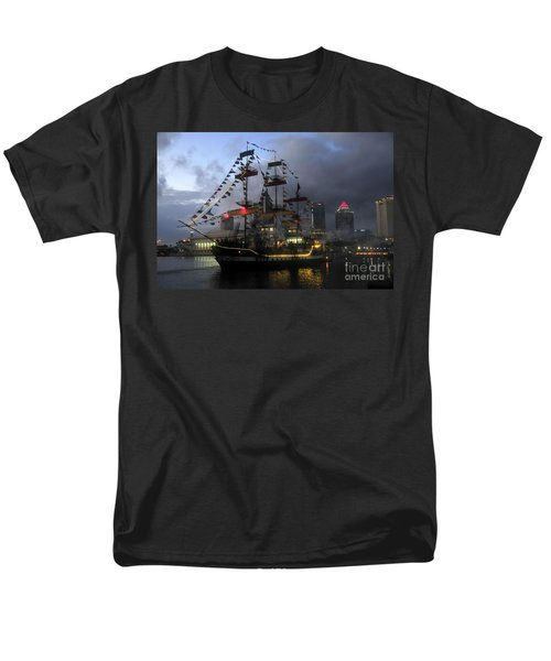 Ship In The Bay Men's T-Shirt  (Regular Fit) by David Lee Thompson