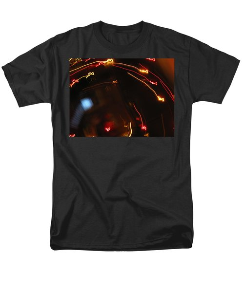 Men's T-Shirt  (Regular Fit) featuring the photograph Shooting Hearts by Ausra Huntington nee Paulauskaite