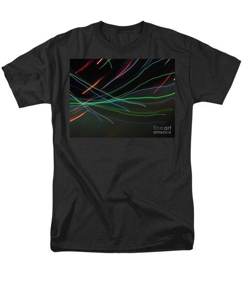Men's T-Shirt  (Regular Fit) featuring the photograph Shooting Stars by Ausra Huntington nee Paulauskaite
