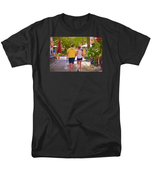 Men's T-Shirt  (Regular Fit) featuring the photograph Shopping Miami Style by Judy Kay