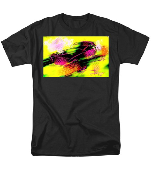 Men's T-Shirt  (Regular Fit) featuring the painting Show Car by Jim Vance