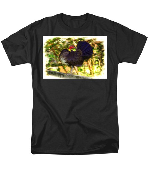 Men's T-Shirt  (Regular Fit) featuring the photograph Show Off 01 by Kevin Chippindall
