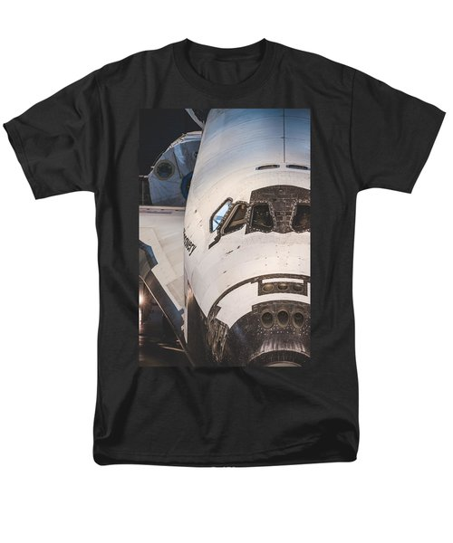 Shuttle Close Up Men's T-Shirt  (Regular Fit) by David Collins