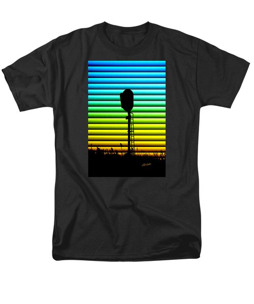 Signal At Dusk Men's T-Shirt  (Regular Fit) by Bill Kesler