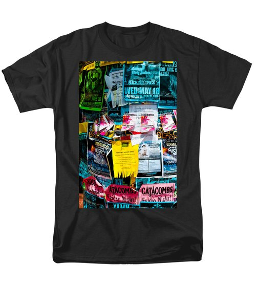 Men's T-Shirt  (Regular Fit) featuring the photograph Signs Everywhere Signs by Colleen Coccia
