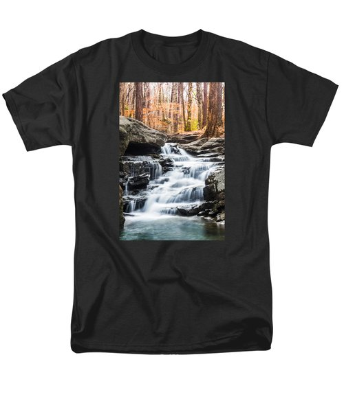 Autumn At Moss Rock Preserve Men's T-Shirt  (Regular Fit) by Parker Cunningham