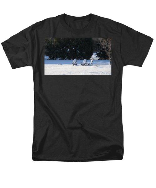 Men's T-Shirt  (Regular Fit) featuring the photograph Silent Conversation by Charles Kraus