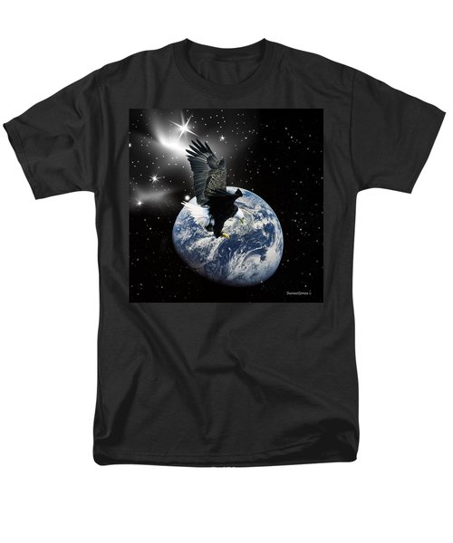 Silent Night Men's T-Shirt  (Regular Fit) by Robert Orinski