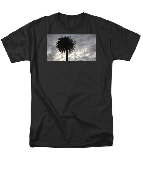 Silhouette Solo Palm  Men's T-Shirt  (Regular Fit) by Nora Boghossian