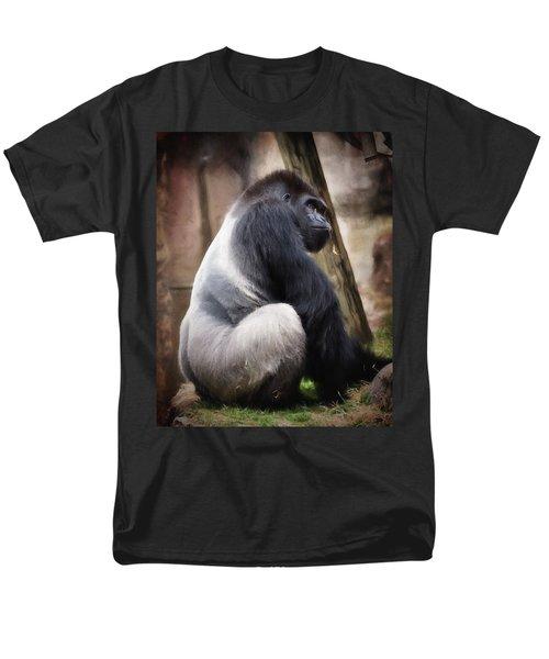 Silverback Men's T-Shirt  (Regular Fit)